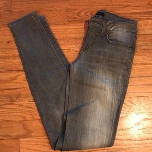 Bebe grey wash jeans